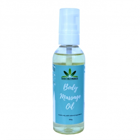 Dầu Massage Body Lavender